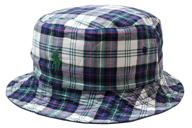 f4f7cca626080 Polo Ralph Lauren   reversible hat and Navy POLO RALPH LAUREN Reversible  Plaid Bucket Hat (710543161002  Newport Navy Green White)