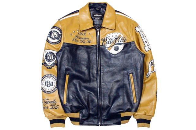 Growaround Pelle Pelle Revolution Leather Jacket Navy Plush 21524