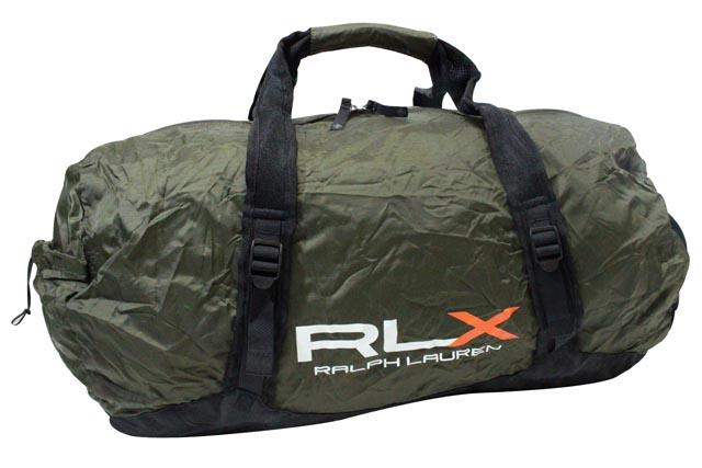 RLX (RALPH LAUREN) LIGHTWEIGHT PACKABLE DUFFLE BAG (OLIVE)RLXラルフローレン/ダッフルバッグ/オリーブ/男女兼用