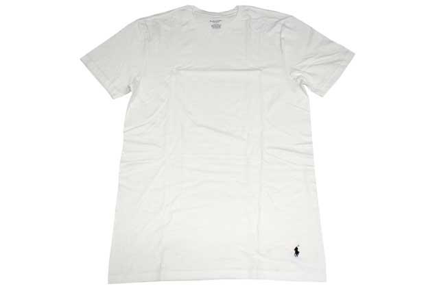 POLO RALPH LAUREN CREW NECK T-SHIRTS WHITE-Polo Ralph Lauren t-bar shirt    White e9d3afb9aa39