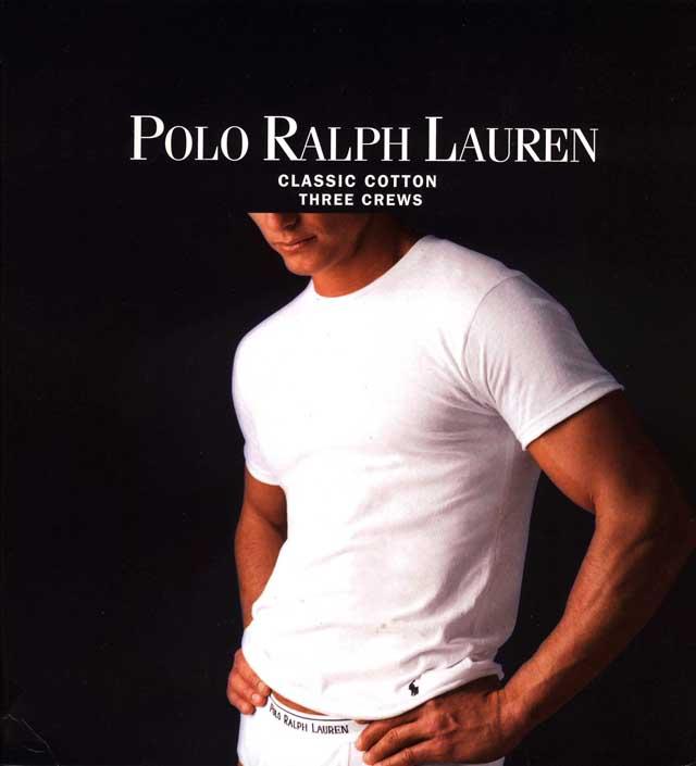 8760f8b66 growaround: POLO RALPH LAUREN CREW NECK T-SHIRTS (3-Pack:BLACK) Polo ...