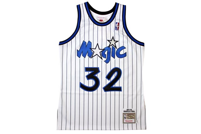 MITCHELL&NESS AUTHENTIC THROWBACK JERSEY (Orlando Magic 1993-94/Shaquille O'Neal: White)ミッチェル&ネス/スローバックジャージー/白