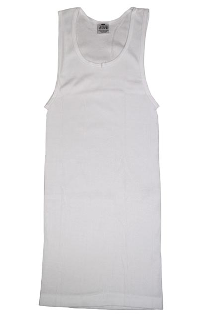 PRO CLUB A-SHIRTS/TANK TOP (3-PACK: WHITE)<BR>プロクラブ/タンクトップ/白
