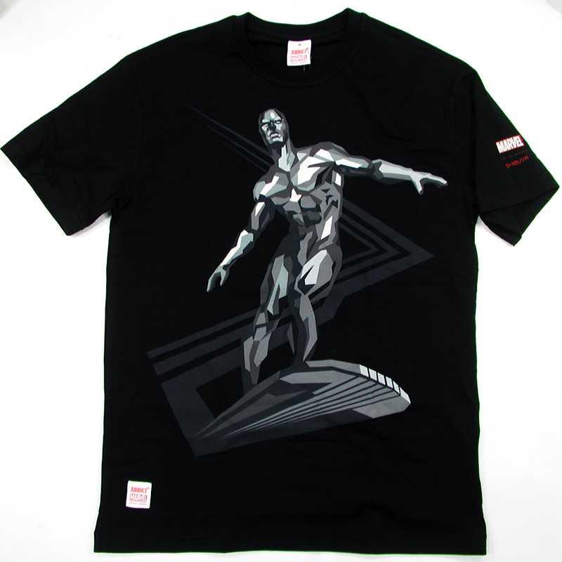 ADDICT(adikuto)x MARVEL SILVER SURFER BY SHIBUYA T-Shirt