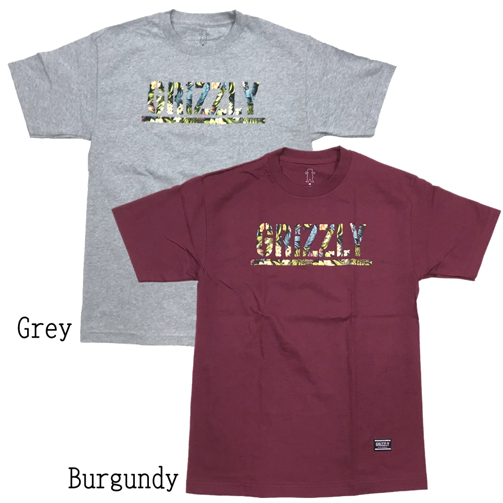 Grizzly(グリズリー) TJ Rogers Stamp T-Shirt (T-シャツ)