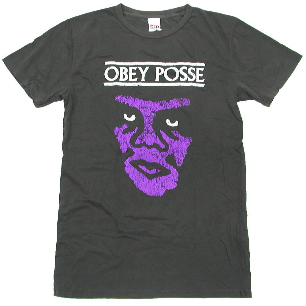 OBEY(オベイ) NASTY ICON LIGHTWEIGHT PIGMENT T-Shirt (T-シャツ)