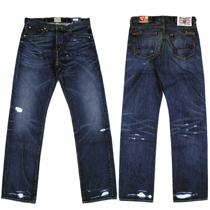 素晴らしい品質 PRPS(ピー Denim・アール・ピー Mid・エス) Mid Straight Wash Straight Denim Pants【SALE】, 相馬グリーン:c8c83971 --- kanvasma.com