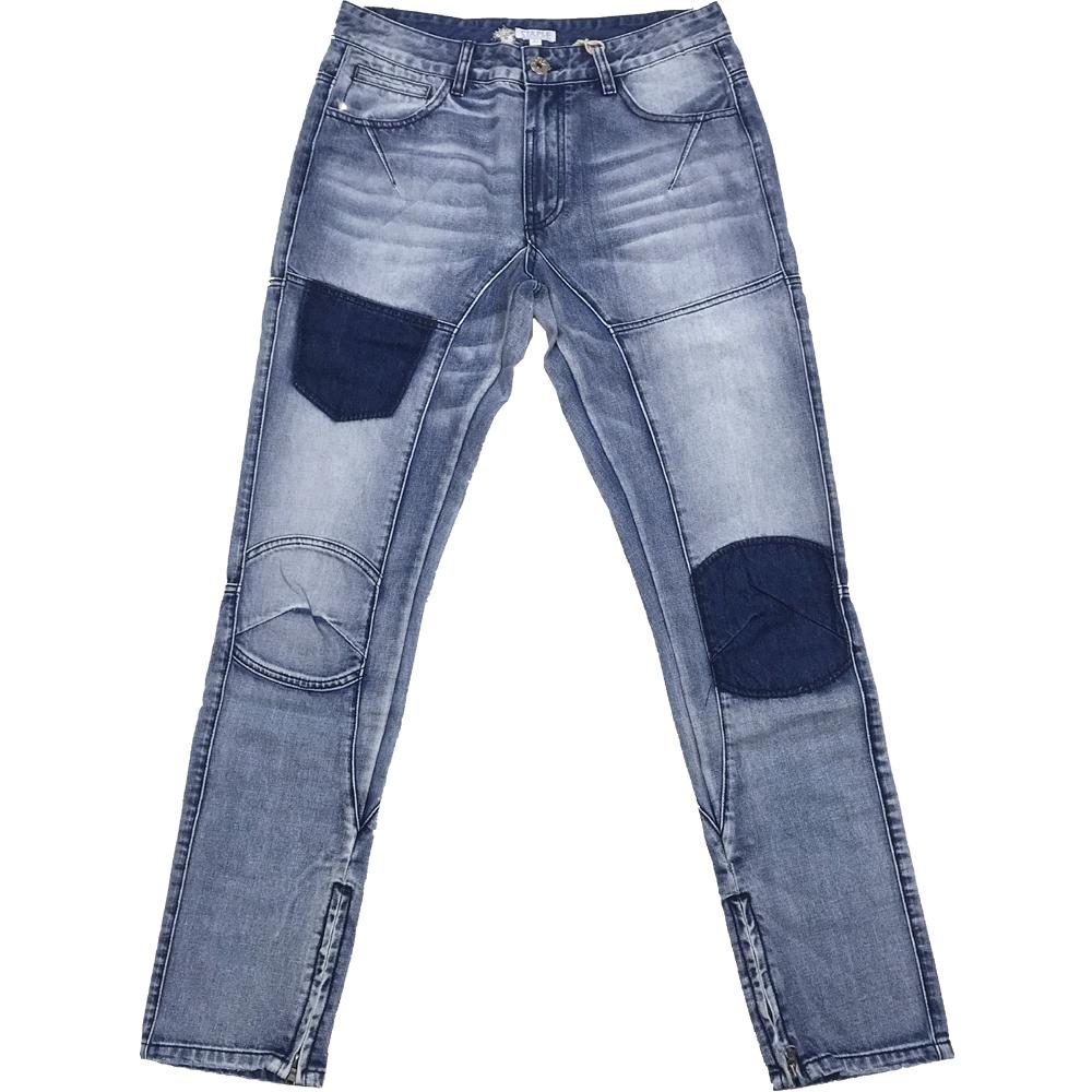 Staple Design(ステイプル・デザイン) SHADOW DENIM PANTS(ダメージ・デニムパンツ)