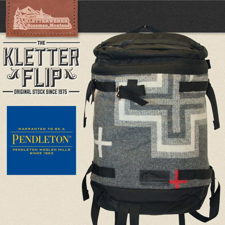 [クリアランス]KLETTER FLIP PENDLETON クレッターフリップペンドルトンSP KLETTER WERKS クレッターワークス 自転車 サイクリング 通勤 通学 キャンプ 送料無料
