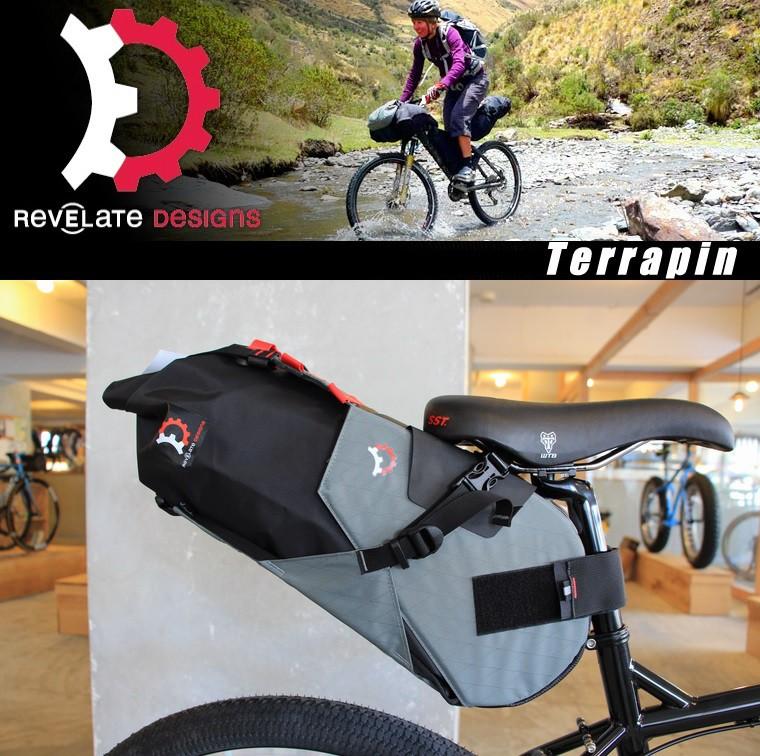 Terrapin テラピン Revelate Designs レベレイトデザイン 自転車 バッグ ツーリング MTB 送料無料