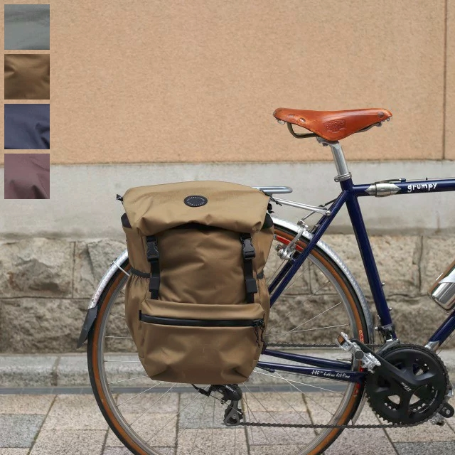 FAIRWEATHER flaptop Pannier Bag フェアウェザー パニアバッグ ツーリング キャンプ 自転車