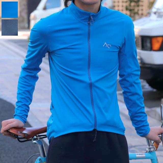 ◆Corse Softshell Jersey (カラー:ブルー/ブラック) サイクルジャージ 7mesh セブンメッシュ 長袖 防風