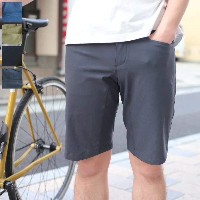 durable cotton REGULAR shorts SWRVE スワーブ ハーフパンツ サイクリング しまなみ海道 送料無料