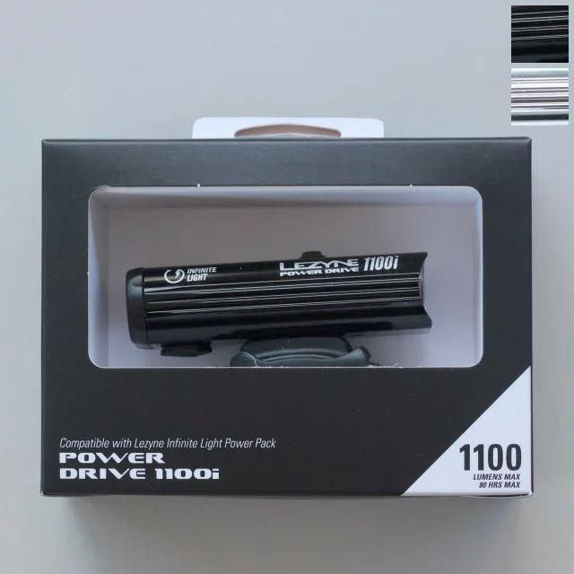 POWER DRIVE 1100i パワードライブ USB LED ライト LEZYNE レザイン 自転車ライト 防水 LED 充電 USB