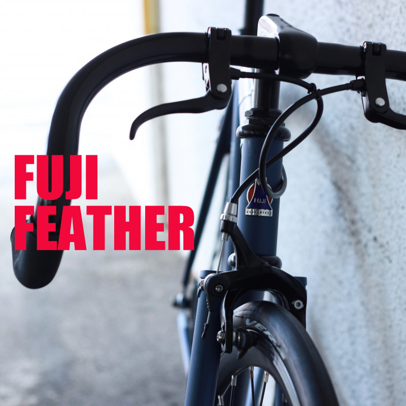 【組立・整備済】FUJI FEATHER 2018 フジ フェザー ピストバイク シングルスピード