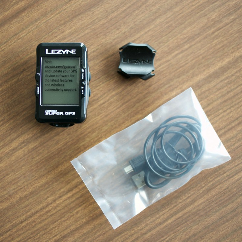 LEZYNE GPS SUPER GPS CYCLE COMPUTERS レザイン サイコン