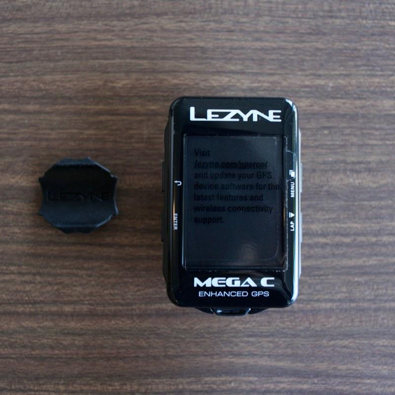 LEZYNE MEGA C GPS CYCLE COMPUTERS レザイン サイコン