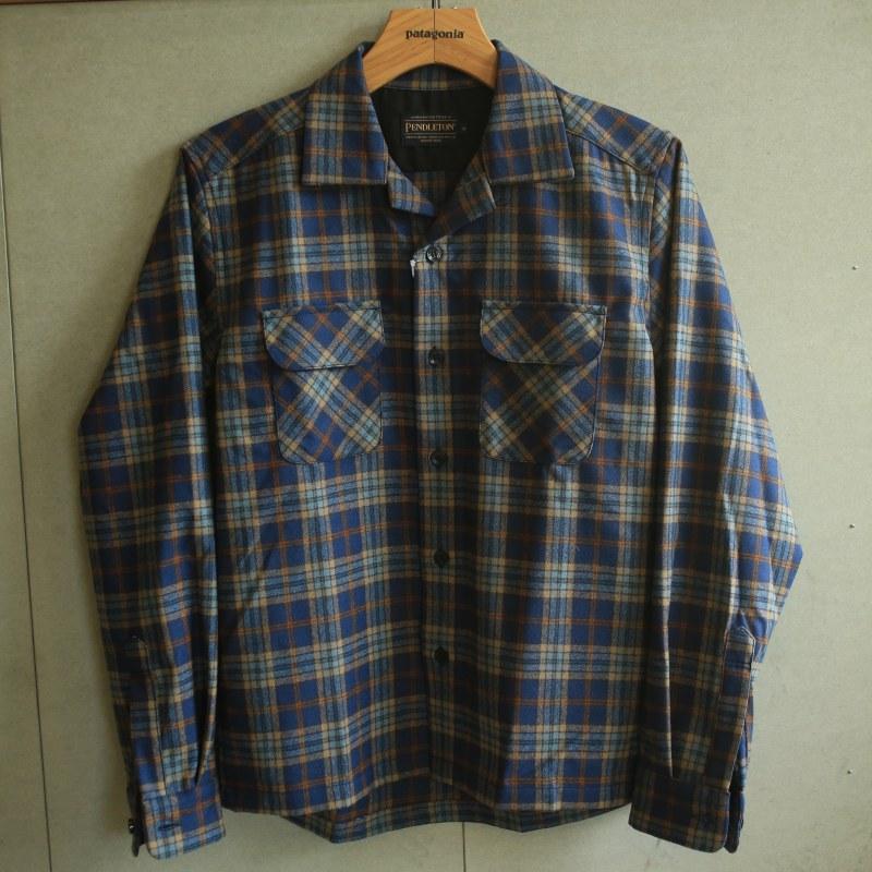 PENDLETON Merino wool Board Shirt Japan Fit ペンドルトン シャツ ボードシャツ オープンカラー