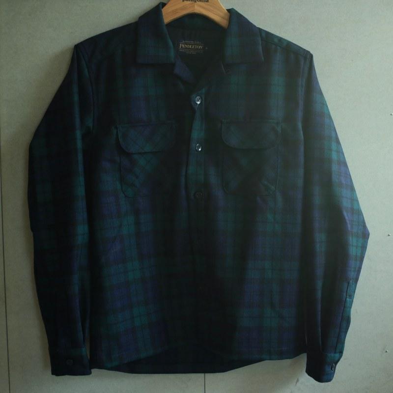 (お買い物マラソン)PENDLETON The original board shirt japan fit  ペンドルトン シャツ ボードシャツ オープンカラー