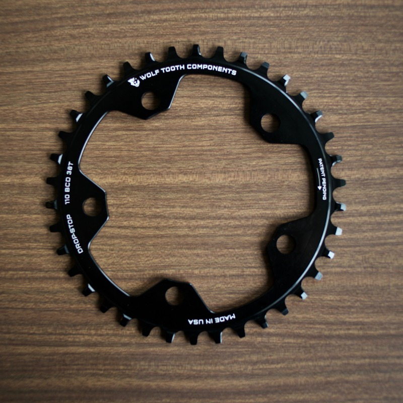 Drop-Stop Chainring 110BCD 5Bolt WolfToothComponents ウルフトゥースコンポーネンツ 送料無料