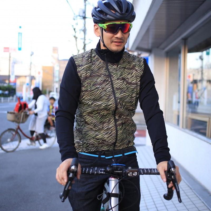 Cafe du Cycliste HEIDI ウィンタージャケット リミテッドエディション カフェドゥシクリステ men