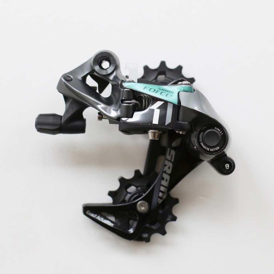 SRAM GX 1X11//Force1//Rival1 Type 2.1 Rear Derailleur Pulley Kit and Long Cage