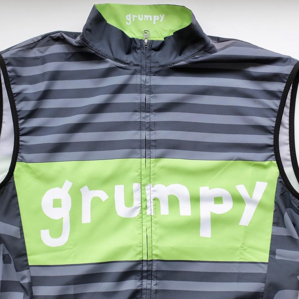 ウインドベスト grumpy グランピー オリジナル