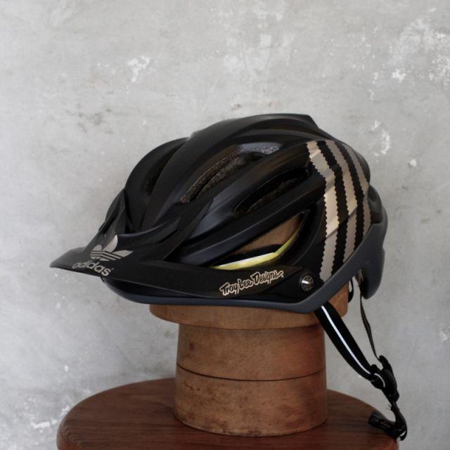 【MTB向 限定】A2 ヘルメット LE ADIDAS TEAM ブラック Troy Lee Design/トロイリーデザイン