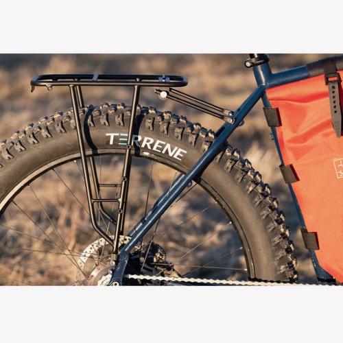 土日もあす楽 送料無料 期間限定で特別価格 北海道沖縄離島除く エントリーでポイント10倍 Mini Pannier Rack Tumbleweed bikes ツーリング キャンプ タンブルウィードバイク マウンテンバイク バイクパッキング フロントラック 市場 キャリア リア