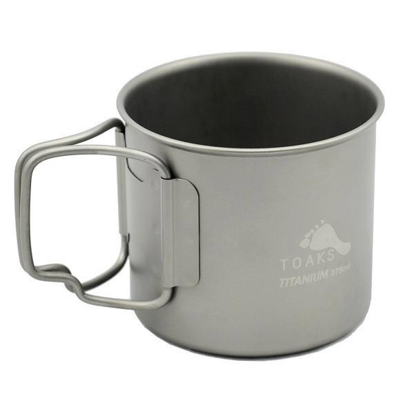 エントリーでポイント10倍 TOAKS 登場大人気アイテム TITANIUM 375ML CUP チタン ショッピング カップ 極薄チタンマグ トークス