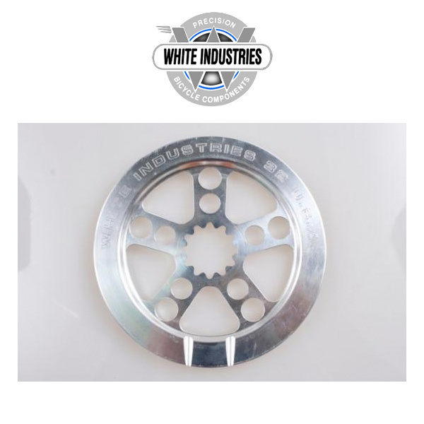 ENO Crank Chain Ring with Bashguard Polish 30T・32T・34T バッシュガード付きチェーンリング White industries ホワイトインダストリーズ