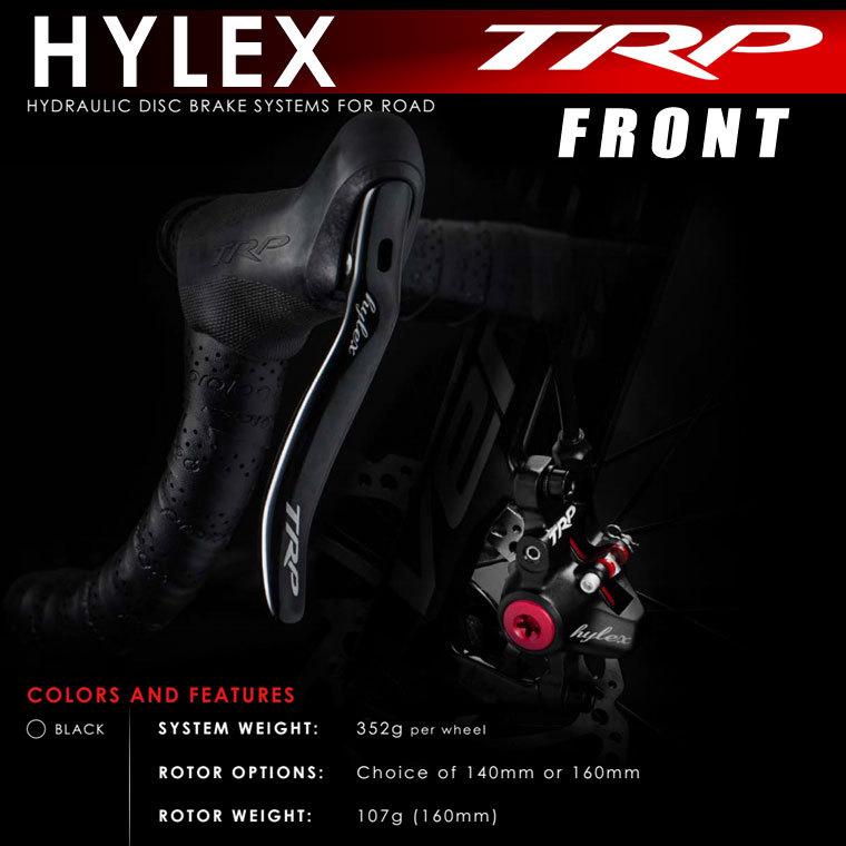 ロード、シクロクロス用 油圧ブレーキレバーセット Hylex フロント用 TRP 送料無料