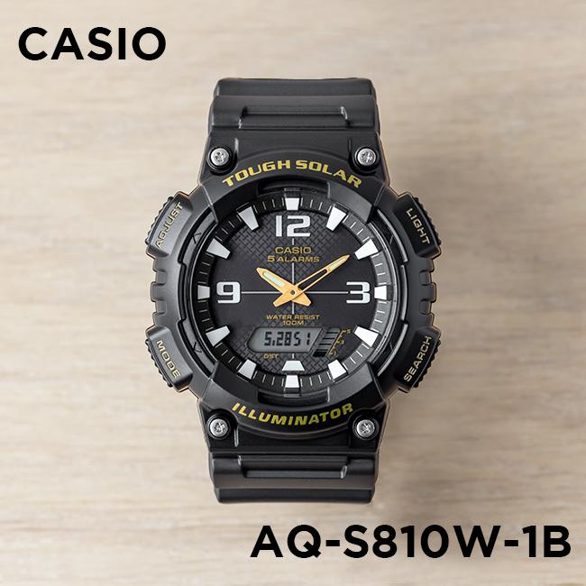 824d657b257 Unreleased STANDARD CASIO ANA-DIGI Casio standard an analog-digital AQ-S810W-1B  watch watches cheap Casio type cash Black Black AQ-S810W-1BVCF ...
