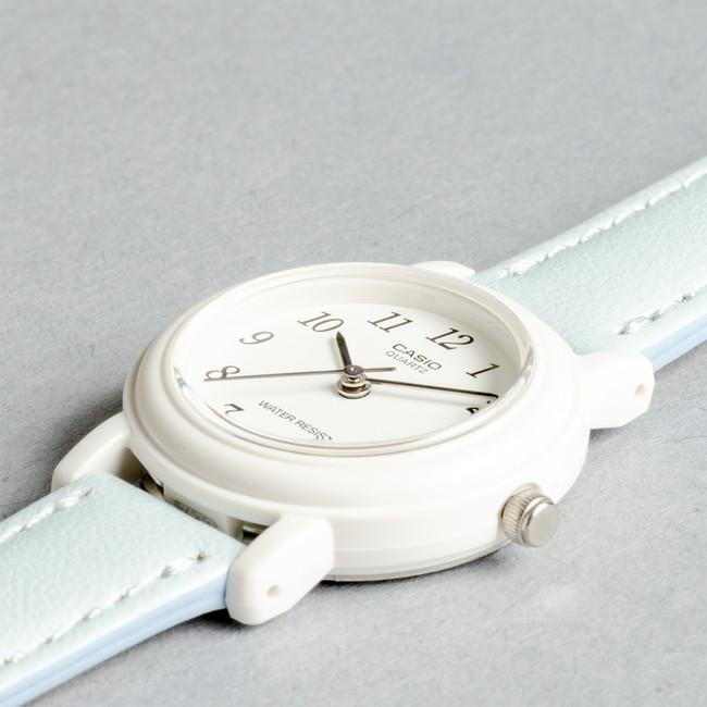 【10年保証】CASIO STANDARD ANALOGUE LADYS カシオ スタンダード アナログ レディース 腕時計 キッズ 子供 女の子 チープカシオ チプカシ プチプラ ホワイト 白 スカイブルー 水色 グリーン 緑 ピンク パープル 紫 海外モデル