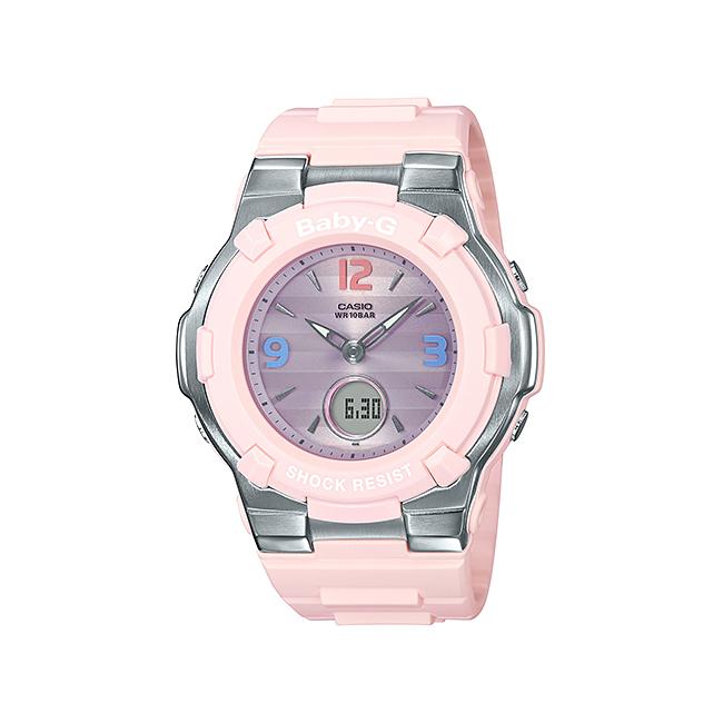 CASIO BABY-G カシオ ベビーG BGA-1100TR-4BJF 腕時計 レディース キッズ 子供 女の子 アナデジ 防水 ピンク パープル 紫