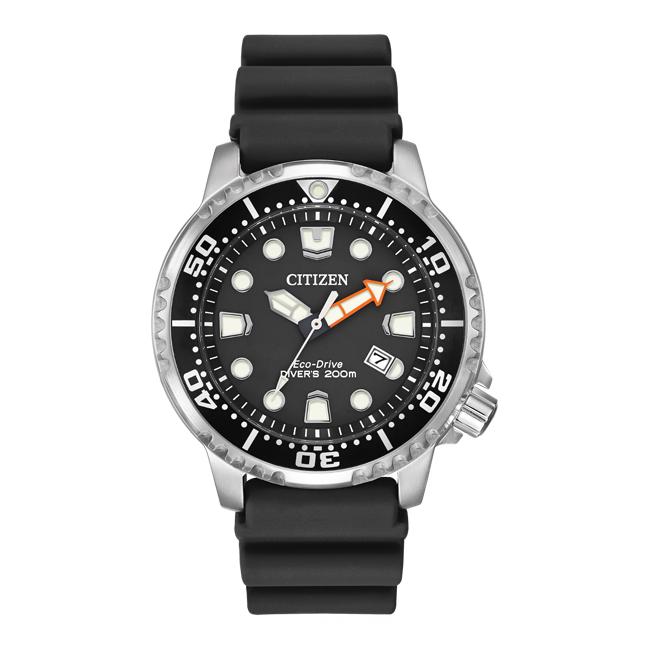 【10年保証】【日本未発売】CITIZEN シチズン プロマスター エコドライブ ダイバー BN0150-28E 腕時計 メンズ 逆輸入 アナログ ソーラー シルバー ブラック 黒 海外モデル