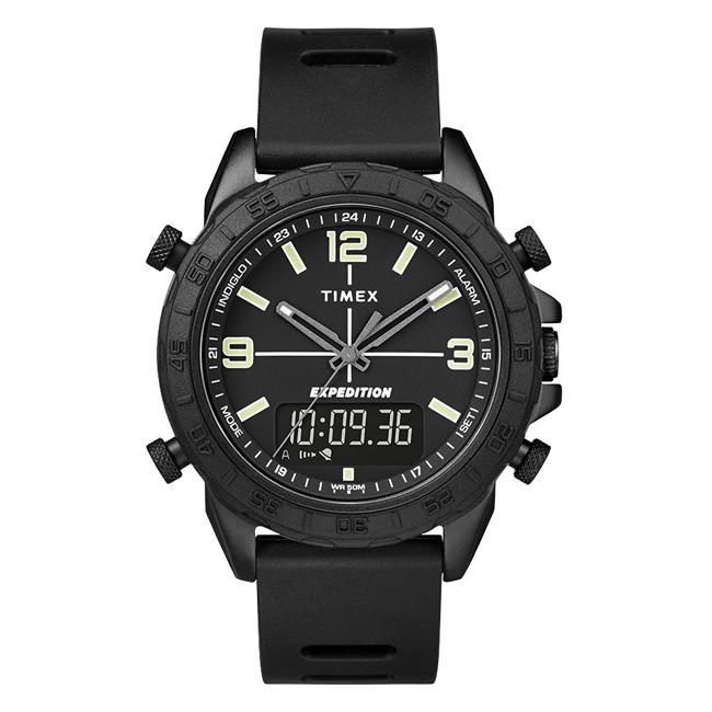 TIMEX タイメックス エクスペディション パイオニア コンボ 41MM TW4B17000 腕時計 メンズ ミリタリー アナデジ ブラック 黒