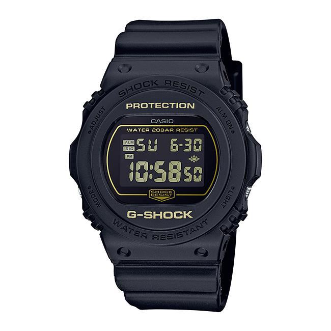 CASIO G-SHOCK カシオ Gショック DW-5700BBM-1JF 腕時計 メンズ キッズ 子供 男の子 デジタル 防水 ブラック 黒