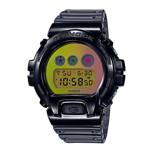 CASIO G-SHOCK カシオ Gショック DW-6900SP-1JR 腕時計 メンズ キッズ 子供 男の子 デジタル 防水 ブラック 黒 イエロー 黄色 スケルトン