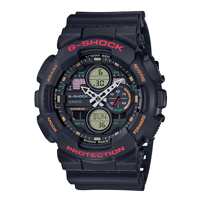 CASIO G-SHOCK カシオ Gショック GA-140-1A4JF 腕時計 メンズ キッズ 子供 男の子 アナデジ 防水 ブラック 黒