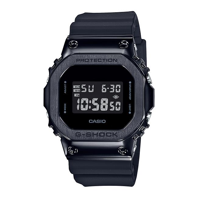 【10年保証】CASIO G-SHOCK カシオ Gショック GM-5600B-1 腕時計 メンズ キッズ 子供 男の子 デジタル 防水 ブラック 黒 オールブラック