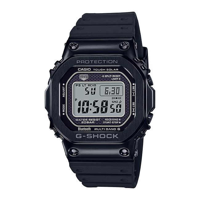 CASIO G-SHOCK カシオ Gショック GMW-B5000G-1JF 腕時計 メンズ キッズ 子供 男の子 デジタル 電波 ソーラー ソーラー電波時計 ブルートゥース 防水 ブラック 黒