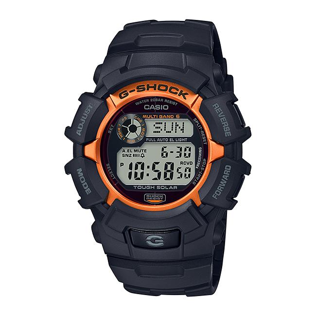 CASIO G-SHOCK カシオ Gショック GW-2320SF-1B4JR 腕時計 メンズ キッズ 子供 男の子 デジタル 電波 ソーラー ソーラー電波時計 防水 ブラック 黒 オレンジ