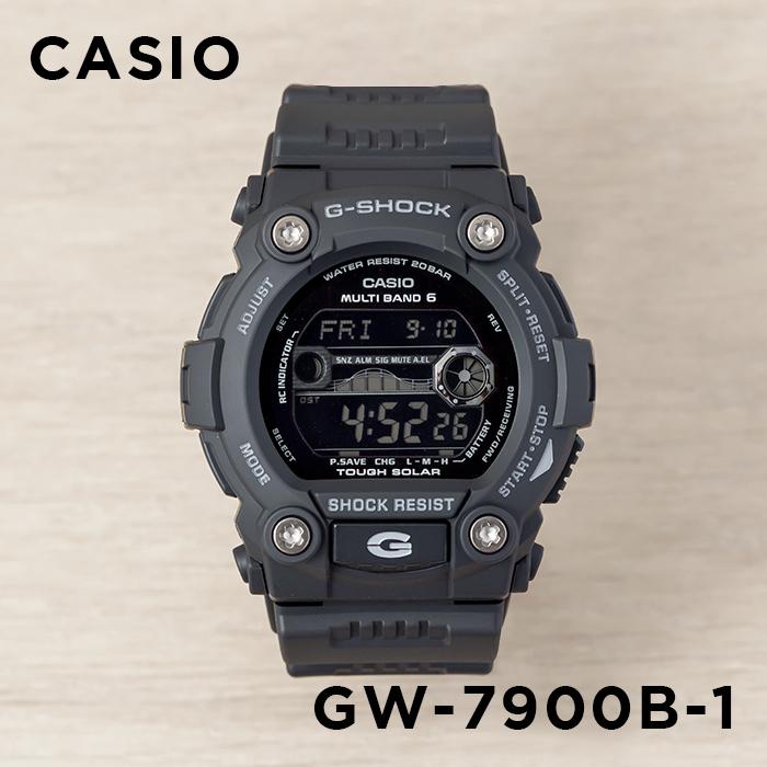 【10年保証】CASIO G-SHOCK カシオ Gショック GW-7900B-1 腕時計 メンズ キッズ 子供用 男の子 ジーショック デジタル 電波 ソーラー ソーラー電波時計 防水 ブラック 黒