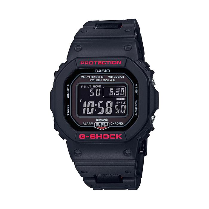 CASIO G-SHOCK カシオ Gショック GW-B5600HR-1JF 腕時計 メンズ キッズ 子供 男の子 デジタル 電波 ソーラー ソーラー電波時計 ブルートゥース 防水 ブラック 黒