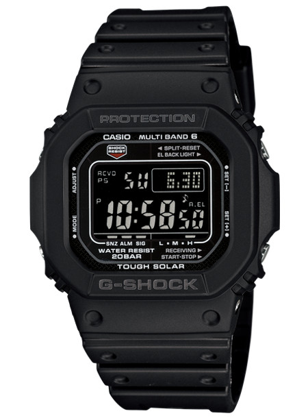 CASIO G-SHOCK カシオ Gショック GW-M5610-1BJF 腕時計 メンズ キッズ 子供 男の子 デジタル 電波 ソーラー ソーラー電波時計 防水 ブラック 黒