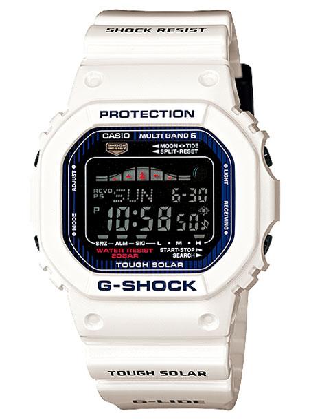 CASIO G-SHOCK カシオ Gショック Gライド GWX-5600C-7JF 腕時計 メンズ キッズ 子供 男の子 デジタル 電波 ソーラー ソーラー電波時計 防水 ホワイト 白 ブラック 黒