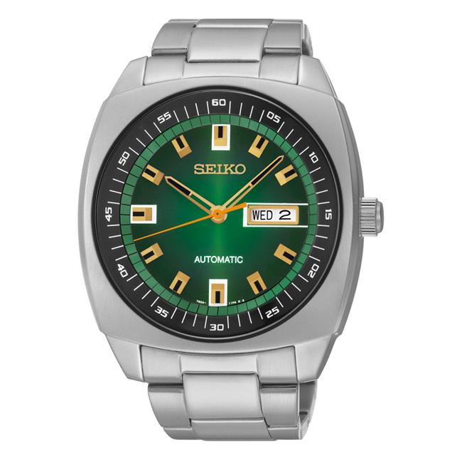 アナログ 逆輸入 シルバー 腕時計 セイコー SEIKO RECRAFT SERIES AUTOMATIC メンズ リクラフト シリーズ 【並行輸入品】 SNKP23 オートマチック ネイビー