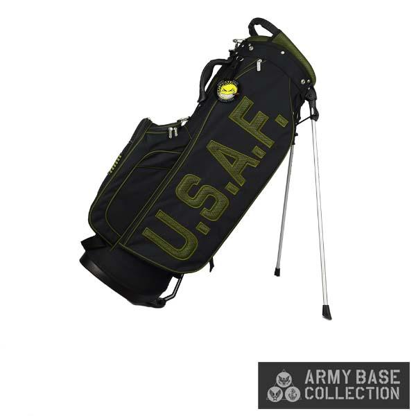 ARMY BASE COLLECTION/アーミーベースコレクション ABC-027SB STAND BAG U.S. AIR FORCE US アーミー エアフォース ABC027SB スタンドキャディバッグ 【送料無料】