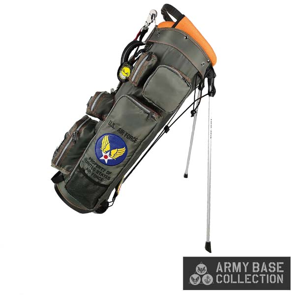 ARMY BASE COLLECTION/アーミーベースコレクション ABC-028SB STAND BAG U.S. AIR FORCE US エアフォース ABC028SB スタンドキャディバッグ 【送料無料】